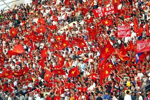Vietnam football fans