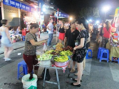 Fruits at Hanoi Night Market