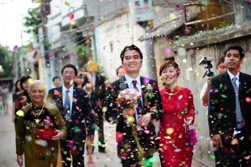 Wedding Ceremony Traditional.Traditional Vietnamese Wedding