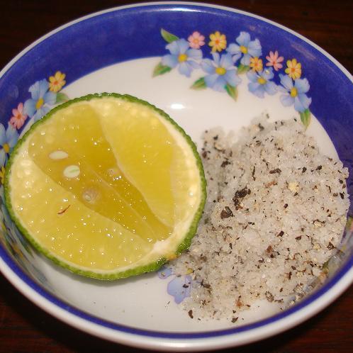 Lime-juicy salt