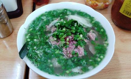 Vietnamese Pho noodle