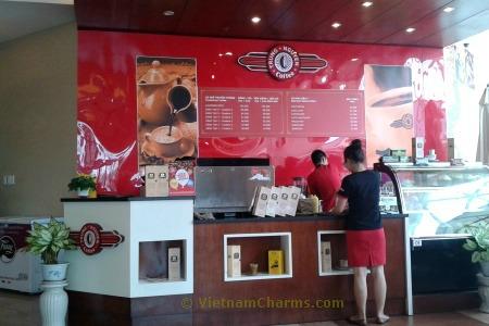 Trung Nguyen coffee shop